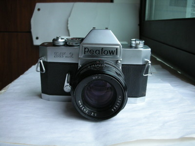 极新孔雀DF--2单反相机带58mmf2镜头,收藏使用