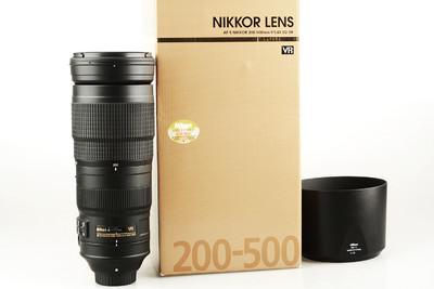 98新 尼康 AF-S Nikkor 200-500mm f/5.6E ED VR