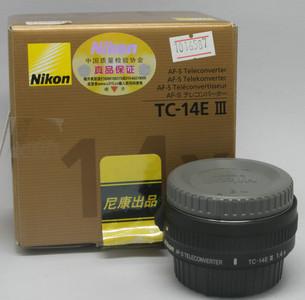 99新 尼康 AF-S TC-14E III((6587)