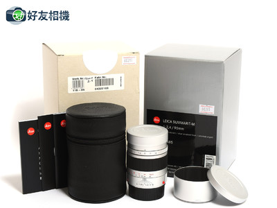徕卡/Leica Summarit-M 90mm F/2.4 6Bits 银色 11685 *全新*