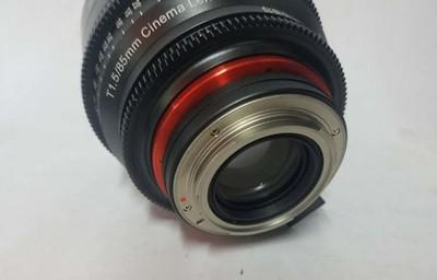 三阳 85mm T1.5三阳 新品XEEN专业系列  85MM T1.5-EF卡口