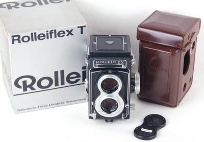 禄来双反T 3.5T tessar 75/3.5 带皮套 包装盒#jp19718