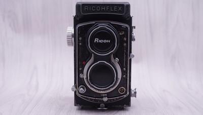 理光 RICOHFLEX 80/3.5120 双反 6*6 自停版 0374