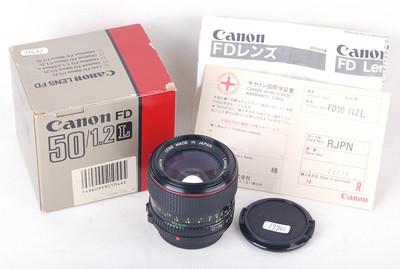 【美品】Canon/佳能 FD 50/1.2 L 带包装 #jp19742