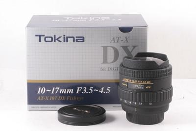 图丽 AF 10-17mm f/3.5-4.5DX 半画鱼眼镜头( 全套包装 )尼康口