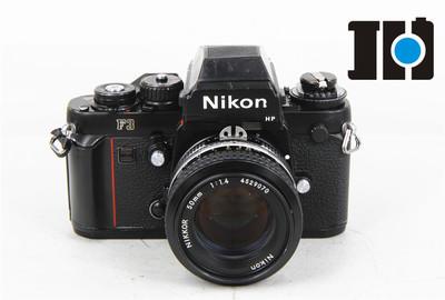 Nikon/尼康 F3 f3+50/1.4 标准定焦 胶片单反相机套机
