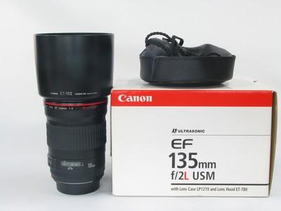 佳能 EF 135mm f/2L USM镜头99新