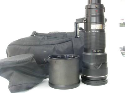 尼康 AF-S VR 200-400mm f/4G IF-ED一代防抖大炮带包95新
