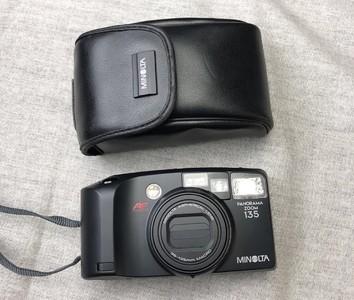 美能达PANORAMA ZOOM 135全景宽幅自动傻瓜相机 胶卷相机