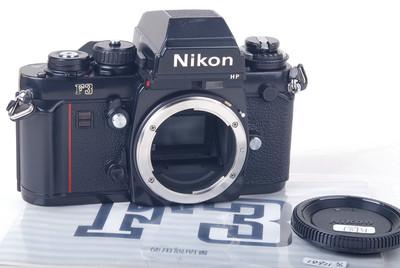 【美品】尼康 F3 HP 黑色机身 带说明书 #jp18931