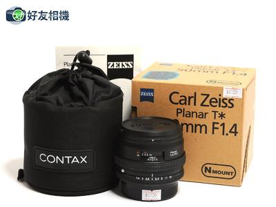 康泰时/Contax N Planar 50mm F/1.4 T* 镜头 *如新连盒*