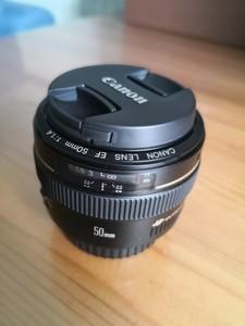 佳能 EF 50mm f/1.4 USM 仅拆封99新