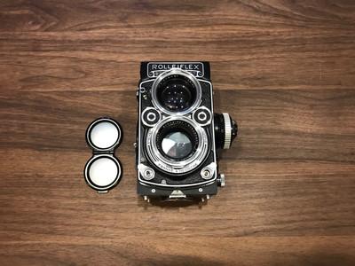 禄来双反 Rolleiflex 2.8F 施耐德 Xenotar
