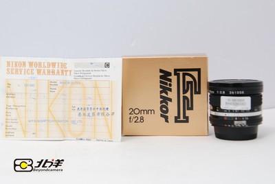 98新尼康AIS20/2.8行货带包装(BH03290002)