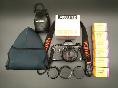 宾得Lx胶片单反相机与A50/1.2镜头套装