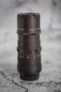 Meyer 梅耶180mm f5.5 m42口