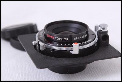 骑士HORSEMAN SUPER TOPCOR90/5.6 6X9座机镜头