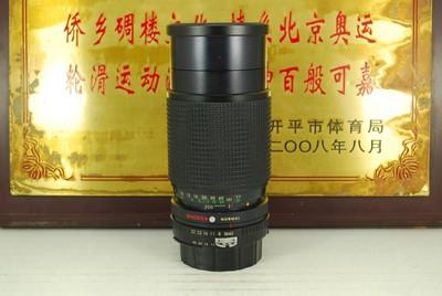 95新 尼康口 TOYO 80-200 F4.5 Macro AI手动单反镜头 恒圈 长焦