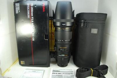 尼康口 适马 70-200 F2.8 OS HSM 小黑五代 镜头 恒圈防抖长焦