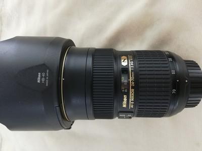 出一支成色非常好的尼康 AF-S Nikkor 24-70mm f/2.8G ED