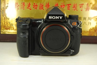 索尼 a900 全画幅 数码单反相机 2460万像素 光学防抖 专业高端
