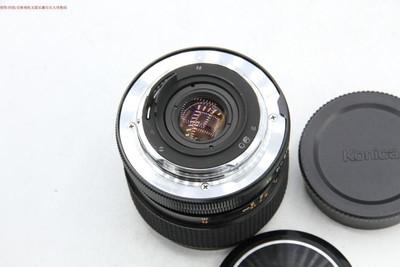 新到 98成新 柯尼卡 24 2.8 带包装镜头包 可转接微单 编号9264