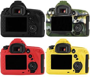 佳能1DX2 1DX 5D4 5DSR 5DS 5D3 80D相机保护硅胶套内胆包