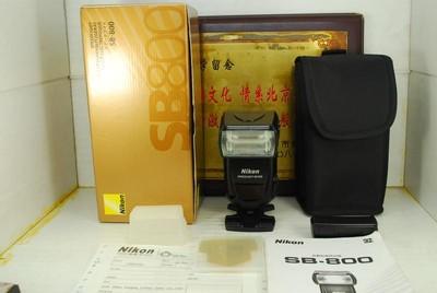 98新 尼康 SB-800 闪光灯 原厂 专业外置机顶灯 TTL高速自动同步