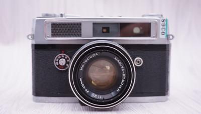 玛米亚 旁轴 胶片机 48/2.8镜头II级 135胶片机 FM2 M6 AE-1 c330