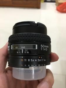 99.99新 尼康 AF 50mm f/1.4D