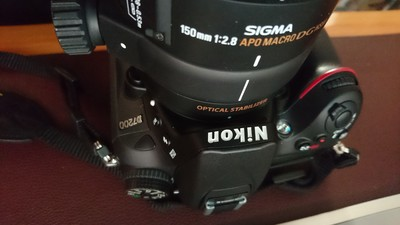 尼康 D7200+适马150mm APO