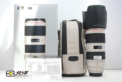 98新佳能EF70-200/2.8L IS II 行货带包装(BH04060011)【已成交】