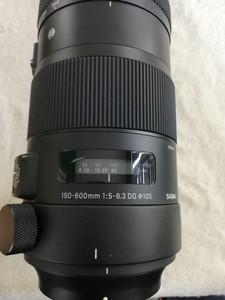 出一支成色不错的适马 150-600mm f/5-6.3 DG OS 尼康口