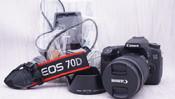 行货 佳能 70D 机身+佳能 18-135 IS STM 镜头