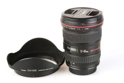 95新 佳能 EF 17-40mm f/4L USM