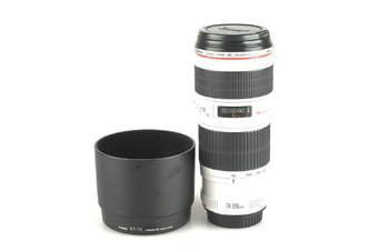 95新 佳能 EF 70-200mm f/4L U