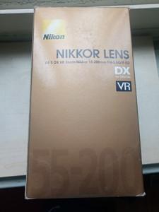 尼康 AF-S DX VR 变焦尼克尔 55-200mm f/4-5.6G IF-ED
