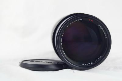 近全新的康泰时蔡司 cy 80-200 F4 mmj 镜头