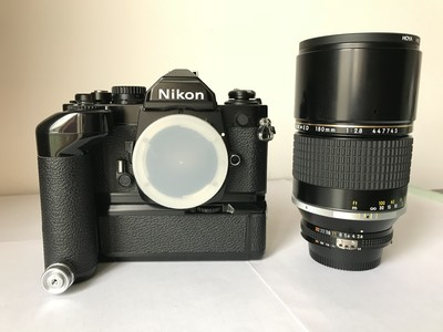 Nikon FM2+AIS180/F2.8ED