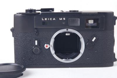【特价】LEICA/徕卡 M5 黑色三耳机身 #jp19794