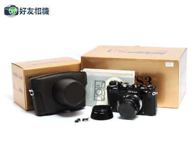尼康/Nikon S3 Limited 黑漆限量版套机 连50mm F/1.4镜头 *全新*