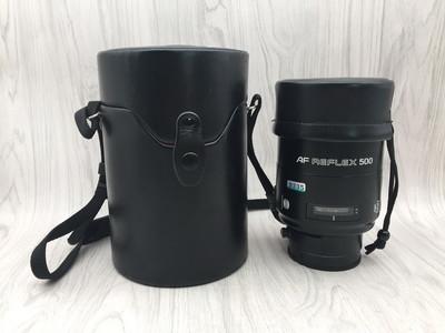 97新 美能达 自动折返 AF REFLEX 500/8 尼康口镜头
