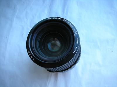 极新美能达35--70mmf3.5恒定光圈经典镜头,收藏使用