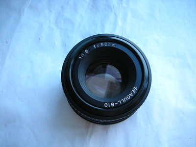 很新海鸥50mmf1.8镜头,MD卡口,可配各种相机