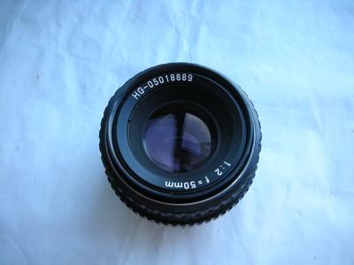 很新珠江50mmf2金属制造镜头,MD卡口,可转接各种数码相机