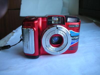 极新红色长城K88mini极小巧袖珍自动曝光相机,收藏使用精品