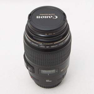 Canon佳能EF 100mm f/2.8 USM 微距100/2.8百微单反镜头98新#0334