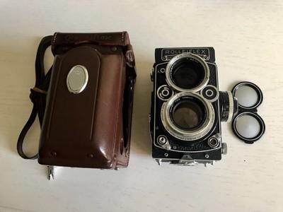 禄来双反 Rolleiflex 2.8f 后期白脸 Planar