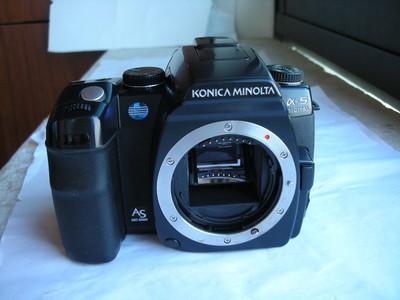 很新美能达a5D数码单反相机,收藏