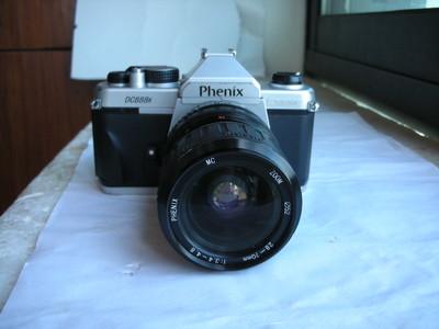 很新凤凰828N单反相机带28--70mm金属制造镜头,PK卡口